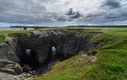 Национальный парк подземелья, Ньюфаундленд, Канада стоковая фотография rf
