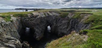 Национальный парк подземелья, Ньюфаундленд, Канада стоковое изображение rf