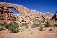 Национальный парк сводов Стоковое Изображение RF