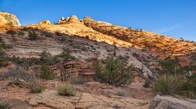 Национальный парк Сиона Стоковое фото RF