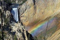 Национальный парк США Йеллоустона Стоковые Изображения
