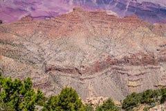 национальный парк США каньона Аризоны грандиозный Засушливая каменистая пустыня Стоковые Фото