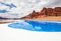 национальный парк США Юта canyonlands Стоковые Фотографии RF
