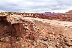 национальный парк США Юта canyonlands Стоковые Фото