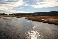 национальный парк США yellowstone Стоковые Изображения