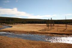 национальный парк США yellowstone Стоковая Фотография
