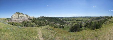 Национальный парк Теодора Рузвельта панорамный стоковые фото