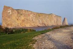 Национальный парк утеса Perce в Канаде Стоковые Изображения RF