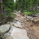 Национальный парк утесистой горы Стоковое Изображение