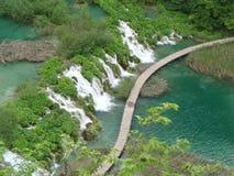 Национальный парк Хорватии, озер Plitvice Стоковое фото RF