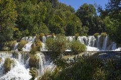 Национальный парк Хорватия Krka Стоковые Изображения
