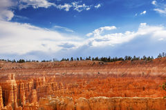 Национальный парк Юта каньона Bryce пункта Bryce амфитеатра Стоковое Изображение