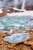 Национальный парк яшмы ледника Анджела Стоковые Изображения