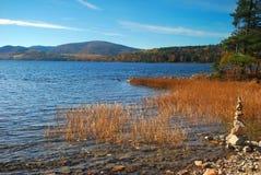 Национальный парк Acadia в Мейне Стоковые Фото