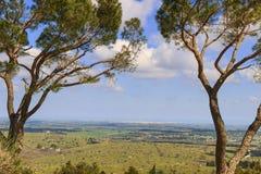 Национальный парк Alta Murgia: панорамный взгляд - & x28; Apulia& x29; ИТАЛИЯ Стоковая Фотография