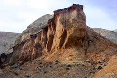 Национальный парк Altyn-Emel, каньон Ak-Tau Стоковое Изображение RF