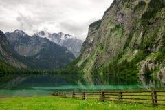 Национальный парк Berchtesgaden в Альпах Стоковое Изображение