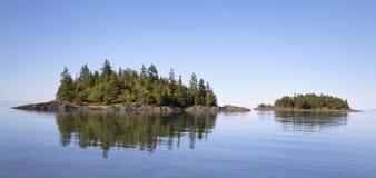 Национальный парк Bic, Квебек стоковая фотография rf