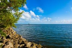 Национальный парк Biscayne Стоковое Фото
