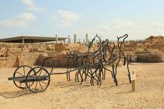 Национальный парк Caesarea Стоковые Фото