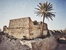 Национальный парк Caesarea Maritima Стоковое Фото