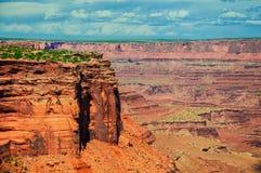 Национальный парк Canyonlands, Юта, США Стоковое Фото