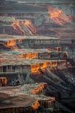 Национальный парк Canyonlands, Юта, США Стоковая Фотография