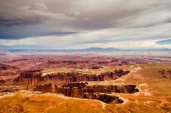 Национальный парк Canyonlands - Юта США Стоковые Изображения