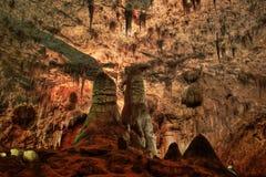Национальный парк Caverns Карлсбада Стоковое фото RF