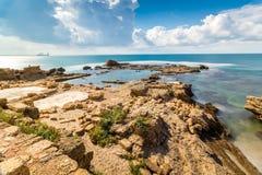 Национальный парк Cesarea, Израиль Стоковые Фото