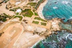 Национальный парк Cesarea, Израиль Стоковое Изображение