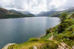 Национальный парк Cumbria Англия Великобритания района озера вод Ennerdale стоковая фотография rf