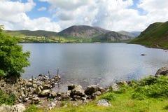 Национальный парк Cumbria Англия Великобритания района озера вод Ennerdale стоковые изображения