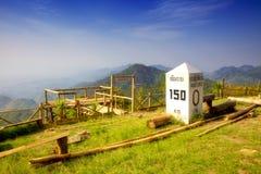 Национальный парк Doi Pha Hom Pok (тайский: ภ² ชภ‡ ˆà¸ ¹ à ภ ¹ à¸™à ² à¸à¸¸à¸-ยภ«•»  ป ภ¡ ˆà¸ ¹ à ภ² ภ‰ ¹ à Стоковые Фото