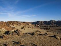 Национальный парк (El Teide - Тенерифе) Стоковые Фотографии RF