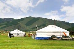Национальный парк Gorkhi-Terelj на Ulaanbaatar, Монголии Стоковые Изображения