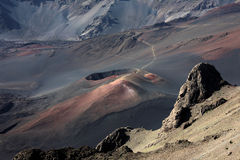 Национальный парк Haleakala Стоковое фото RF