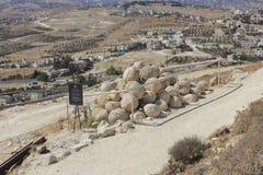 Национальный парк Herodium в Израиле Стоковая Фотография