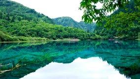 национальный парк jiuzhaigou фарфора sicuan Стоковое фото RF