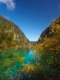 Национальный парк Jiuzhaigou стоковое изображение rf