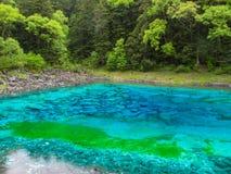 Национальный парк Jiuzhaigou Valley в Китае стоковая фотография