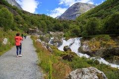 Национальный парк Jostedalsbreen, Норвегия стоковые изображения rf