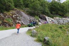 Национальный парк Jostedalsbreen, Норвегия Стоковое фото RF
