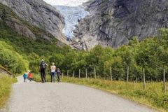 Национальный парк Jostedalsbreen, Норвегия стоковое изображение