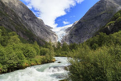Национальный парк Jostedalsbreen, Норвегия стоковые фотографии rf