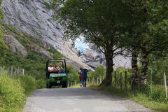 Национальный парк Jostedalsbreen, Норвегия стоковые изображения