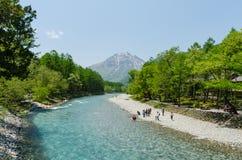 Национальный парк Kamikochi в nagano Японии Стоковое Изображение