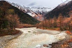 Национальный парк Kamikochi стоковое изображение rf