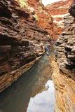 Национальный парк Karijini, западная Австралия Стоковое Изображение RF