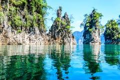 Национальный парк Khao Sok, провинция Surat Thani, Таиланд (Guilin Таиланда) Стоковые Изображения